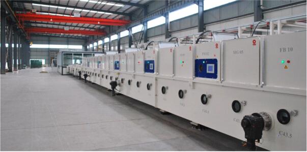 低辐射镀膜亚博体育苹果下载中心生产设备